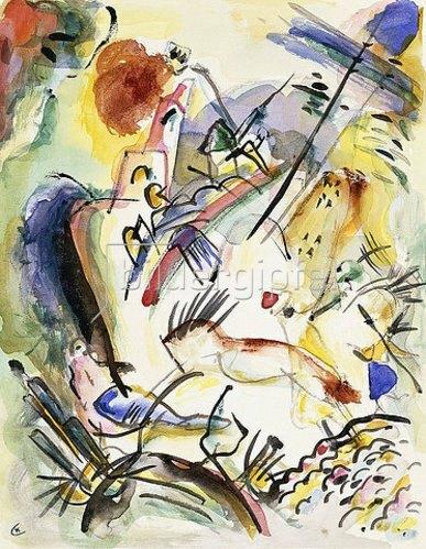 Wassily Kandinsky: Ohne Titel. 1915-17