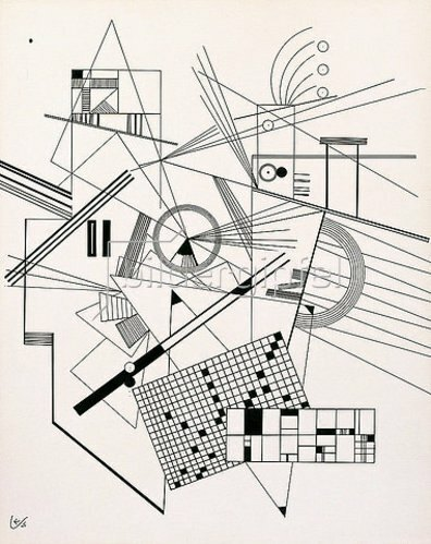 Wassily Kandinsky: Ohne Titel. 1925