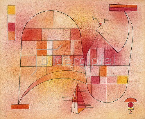 Wassily Kandinsky: Gelb Rosa. 1929