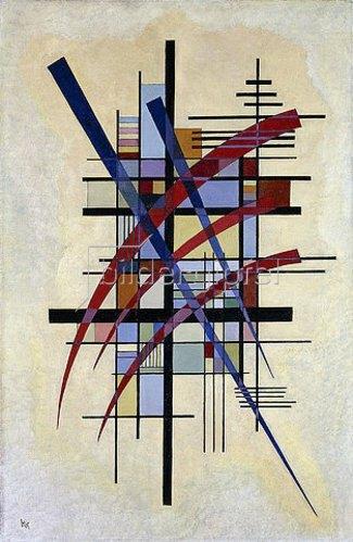 Wassily Kandinsky: Zeichen mit Begleitung. 1927