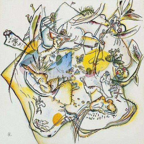 Wassily Kandinsky: Afrika. 1916