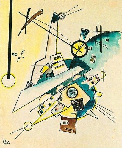 Wassily Kandinsky: Komposition.