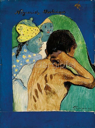 Paul Gauguin: Nègreries Martinique. 1890