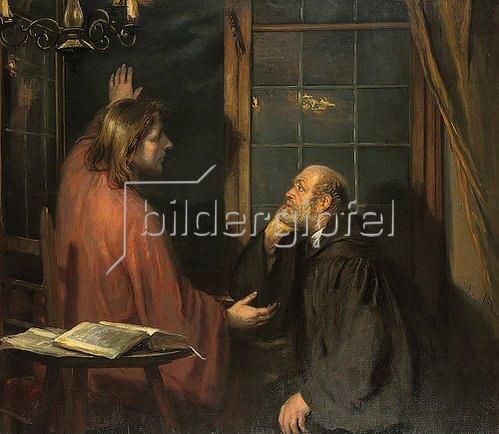 Fritz von Uhde: Nikodemus und Jesus.