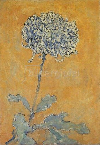 Piet Mondrian: Chrysantheme.