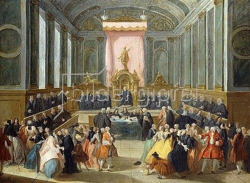 François Octavien: Bei Gericht.