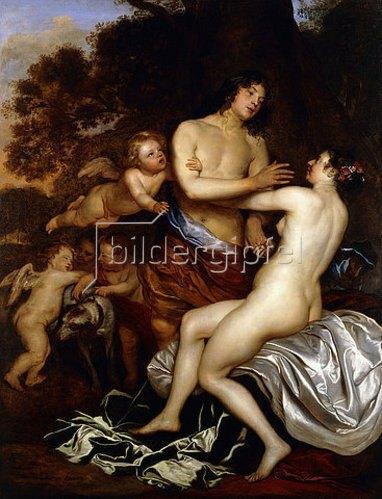 Jan Mytens: Venus und Adonis.