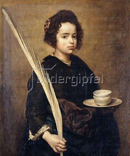 Diego Rodriguez de Velazquez: Die heilige Rufina.