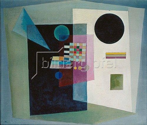 Wassily Kandinsky: Behauptend. 1926.