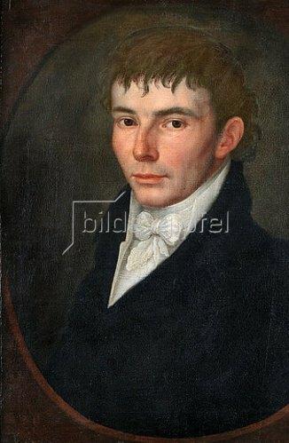 Unbekannter Künstler: Heinrich von Kleist (1777-1811). Ca. 1810