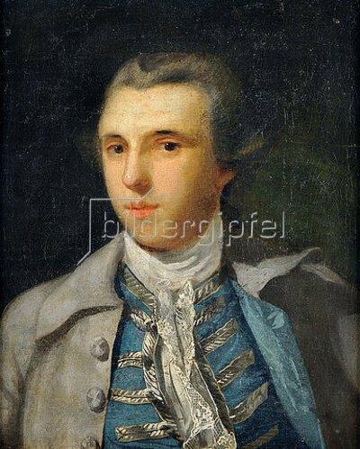 Unbekannter Künstler: Jakob Michael Reinhold Lenz (1751-1792).  Ca. 1770