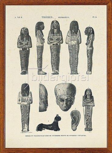 Unbekannter Künstler: Napoleonische Untersuchung über Ägypten (Eine Sammlung von Ansichten, Kostümen, Plänen und Antiquitäten aus Ägypten. 1798-1801