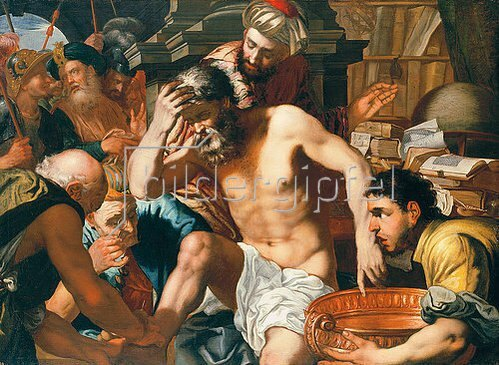 Antonio Zanchi: Der Tod Senecas.