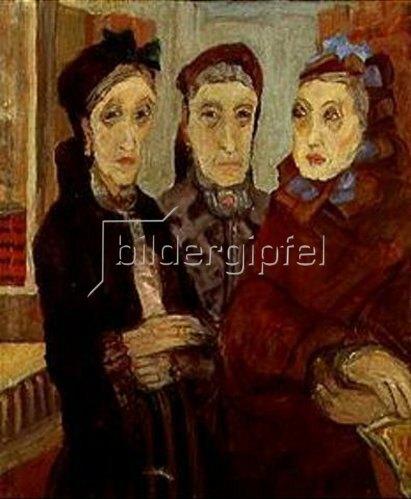 Marie Bermond: Drei alte Damen.