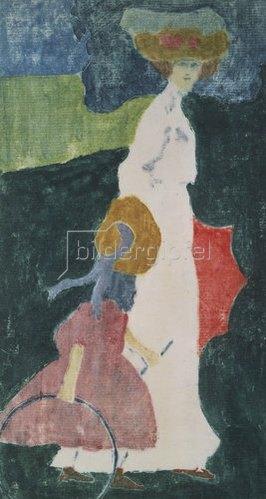 Wassily Kandinsky: Im Sommer. 1904.