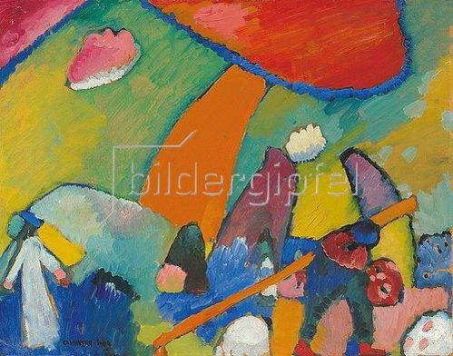 Wassily Kandinsky: Strandszene. 1909