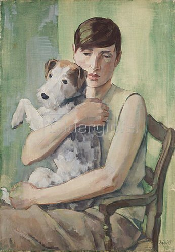 Emil Rudolf Weiß: Bildnis Renée Sintenis. 1929