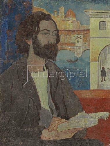 Paul Serusier: Portrait von Emile Bernard in Florenz. 1893