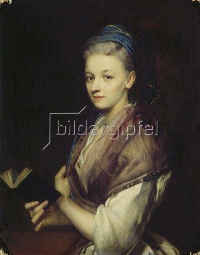 Jan Kupetzky: Bildnis einer jungen Frau.