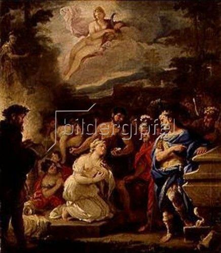 Luca (Fa Presto) Giordano: Die Opferung der Polyxena.