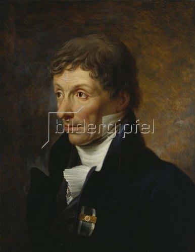 Johann Baptist Seele: Galeriedirektor Johann Chr. v. Mannlich, Bildnis
