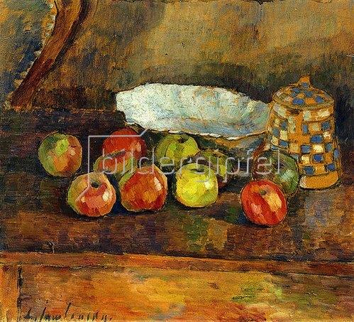 Alexej von Jawlensky: Stilleben mit Äpfeln. Um 1907