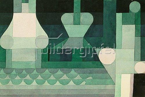 Paul Klee: Schleusen. 1922