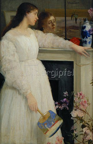 James McNeill Whistler: Symphonie in weiss no.2. 1864