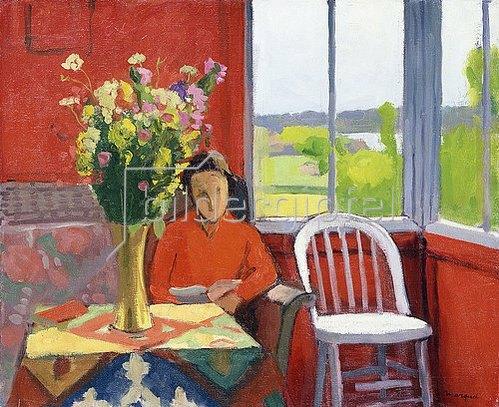 Albert Marquet: Interieur in Hesnes, Norwegen. 1925