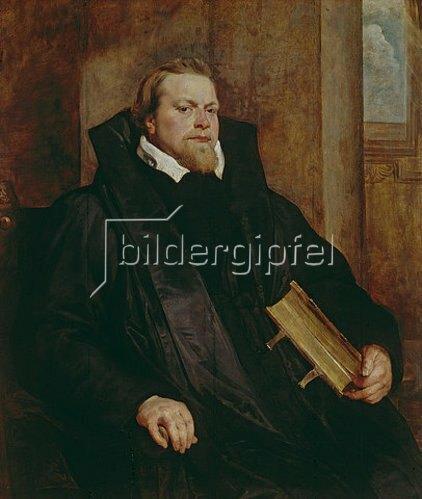 Peter Paul Rubens: Bildnis des Hendrik van Thulden. Wohl 1615-1617