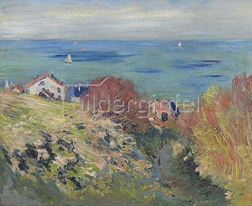 Claude Monet: Pourville. 1882