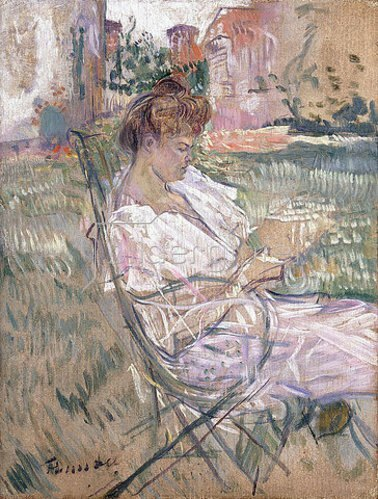 Henri de Toulouse-Lautrec: Madame Misia Natanson. 1897