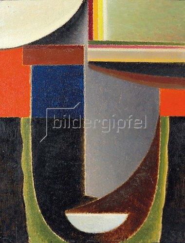 Alexej von Jawlensky: Abstrakter Kopf: Andante. 1933