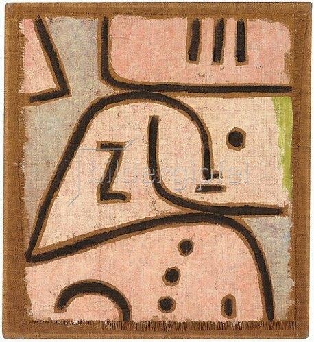 Paul Klee: Wi (in memoriam). 1938