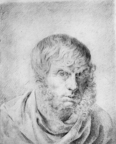 Caspar David Friedrich: Selbstbildnis. Um 1810