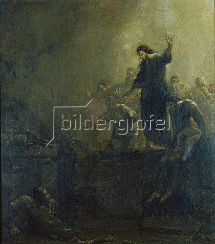Leonard Bramer: Die Auferweckung des Lazarus. Um 1640.