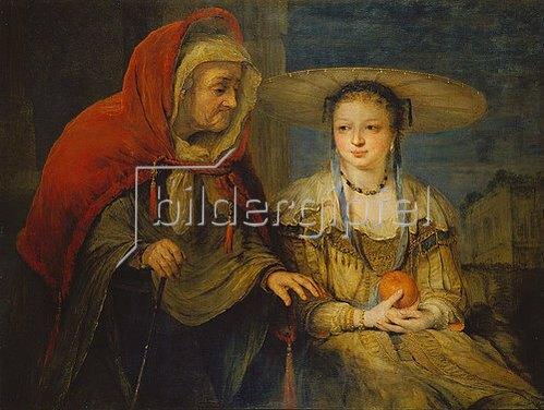 Aert de Gelder: Vertumnus und Pomona.Um 1685.