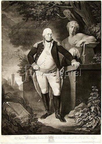 Johann Gerhard Huck: Lud: Graf von Wallmoden-Gimborn Gr: Britt. Chur-Braunschw: Gen:en Chef der Han: Truppen. 1798.