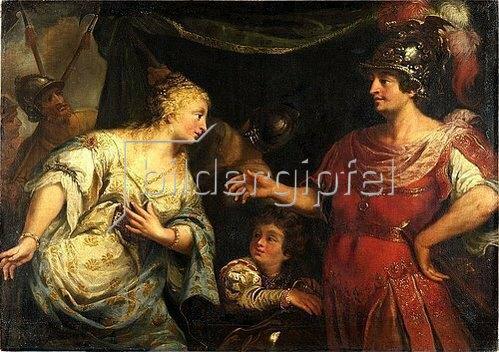 Venezianisch: Antonius und Kleopatra. Um 1700.