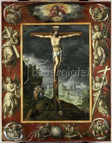 Hendrick de Clerck: Christus am Kreuz. 1710er Jahre.