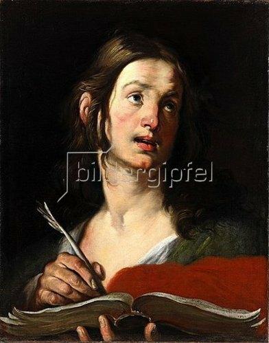Bernardo (Il Capuccino) Strozzi: Der Evangelist Johannes. 1620er Jahre.