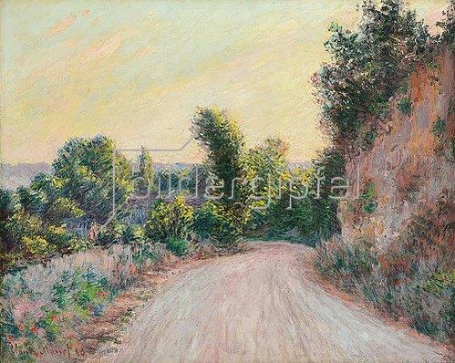 Claude Monet: Weg (Chemin). 1885