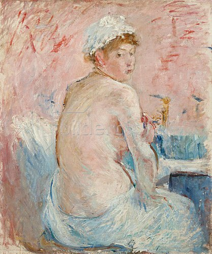Berthe Morisot: Rückenakt (Nu de dos). 1885