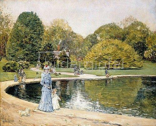 Frederick Childe Hassam: Central Park.
