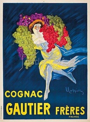 Leonetto Cappiello: 'Gautier Frères Cognac'. 1927. Gedruckt von Vercasson & Cie.
