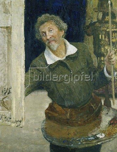 Ilja Efimowitsch Repin: Selbstbildnis. 1915.