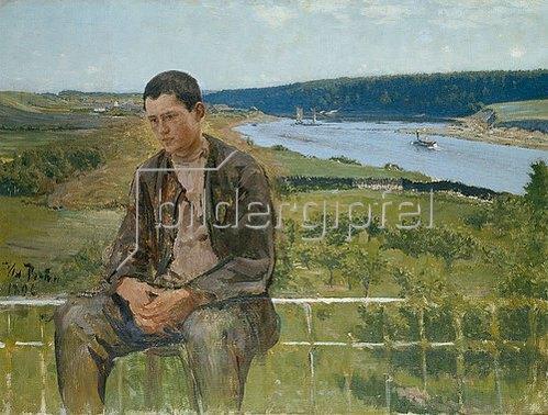 Ilja Efimowitsch Repin: Bildnis des Sohnes. 1896.