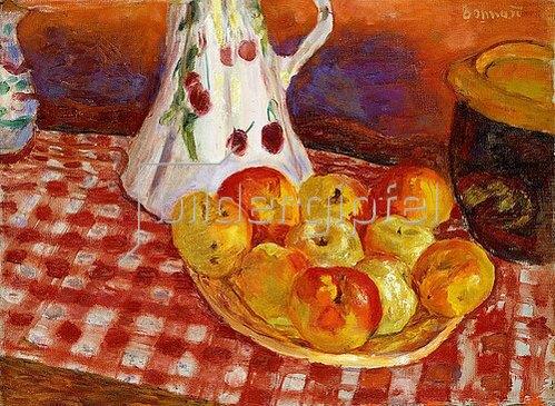 Pierre Bonnard: Rote und gelbe Äpfel (Les Pommes Jaunes et Rouges). 1920