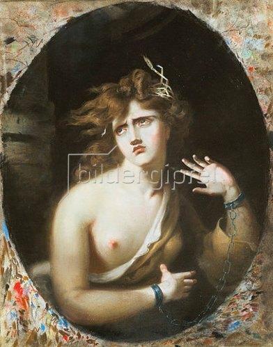 Sir Thomas Lawrence: Wahnsinnige junge Frau (Mad Girl). 1786