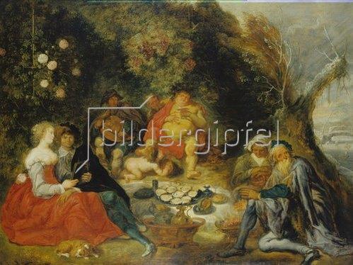 Simon de Vos: Die Jahreszeiten. 1635